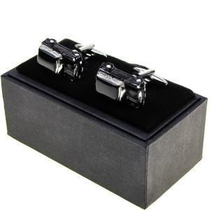 モチーフカフスボタン カフリンクス アクセサリー 車 カー CAR 黒 ブラック ユニーク 8186...