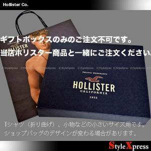 ホリスター Hollister ギフトボックス ショップバッグ ショッパー(必ず説明文お読みください)|stylexpress