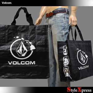 ボルコム Volcom エコバッグ トートバッグ 男女兼用|stylexpress