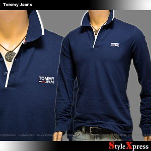 トミージーンズ TOMMY JEANS 長袖 ポロシャツ メンズ トミーヒルフィガー|stylexpress