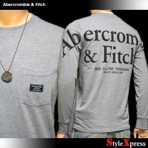 アバクロ アバクロンビー&フィッチ Abercrombie & Fitch ロンT メンズ stylexpress