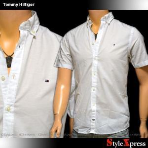 トミーヒルフィガー Tommy Hilfiger 半袖シャツ メンズ|stylexpress