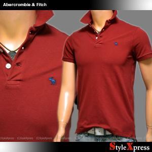 アバクロ アバクロンビー&フィッチ Abercrombie & Fitch ストレッチ ポロシャツ メンズ|stylexpress