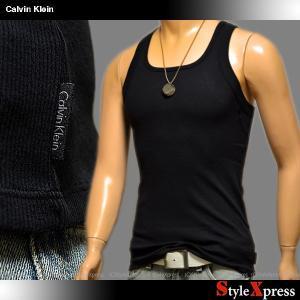 カルバンクライン Calvin Klein リブ タンクトップ メンズ|stylexpress