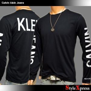 カルバンクラインジーンズ Calvin Klein Jeans ロンT 長袖Tシャツ メンズ|stylexpress