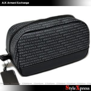 アルマーニエクスチェンジ Armani Exchange ポーチ セカンドバッグ|stylexpress