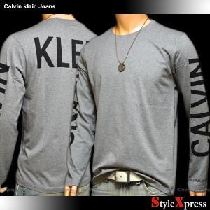 カルバンクラインジーンズ Calvin Klein Jeans ロンT 長袖Tシャツ メンズ stylexpress