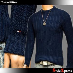 トミーヒルフィガー TOMMY HILFIGER ざっくり セーター ニット メンズ|stylexpress