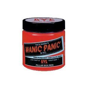 マニックパニック(MANIC PANIC) ヘアカラー ピラーボックス レッド 118ml|styling-resort