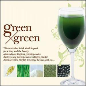 テクノエイト ブリーズベール グリーン×グリーン (1.5g 30袋入り) (ユーグレナ入り青汁)|styling-resort