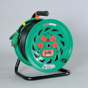 超高感度ブレーカ付ドラム 標準型(過負荷漏電保護兼用)屋内型 NFH-EK34(メーカー直送)(代引不可)|styling-resort