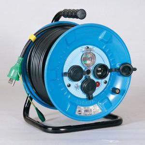防雨・防塵型ドラム(アース付・漏電保護専用/屋外型)屋外型 NPW-EB33(メーカー直送)(代引不可)|styling-resort