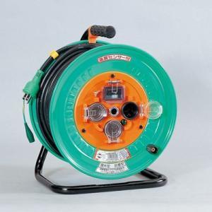 防雨・防塵型ドラム(温度センサー付/漏電保護専用)屋外型 NW-EB33(メーカー直送)(代引不可)|styling-resort