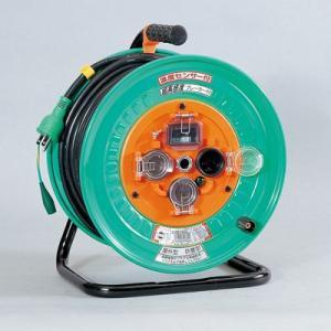 超高感度ブレーカ付ドラム 防雨型(過負荷漏電保護兼用)屋外型 NWH-EK33(メーカー直送)(代引不可)|styling-resort