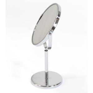 「裏には拡大鏡付き卓上ミラー(鏡)」拡大鏡 高さ調整 角度調整 卓上ミラー メイク 卓上 ミラー 鏡 メイクアップミラー メイクアップ 卓上鏡 卓上かがみ シンプル|stylish-interior|03