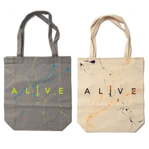 トートバッグ アライブ PAINTED TOTE BAG  ALIVEATHLETICS|suave-tribe
