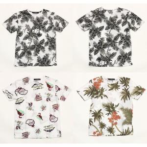 クローゼット 総柄プリントTシャツ CLOTHETE CSTE19042  メンズ トロピカル suave-tribe
