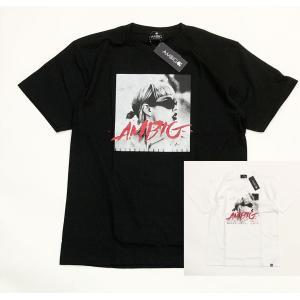 アンビギュアス フォトプリントTシャツ AMBIGUOUS ESTABLISHED TEE 19-210 メンズ レディース ストリートファッション サーフィン スケート スノーボード|suave-tribe