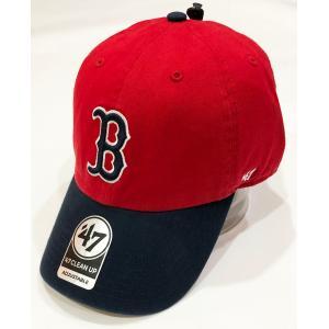 ボストン・レッドソックス キャップ Red Sox'47 CLEAN UP Red RGW02GWS RDE  フォーティーセブン|suave-tribe