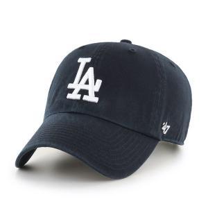 ロサンゼルス・ドジャース キャップ Dodgers'47 CLEAN UP Black RGW12GWS BKJ  フォーティーセブン|suave-tribe