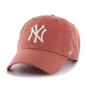 ニューヨークヤンキース キャップ Yankees '47 CLEAN UP Island Red RGW17GWS IR  フォーティーセブン|suave-tribe