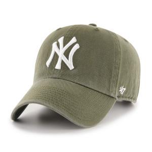 ニューヨークヤンキース キャップ Yankees '47 CLEAN UP Sandalwood RGW17GWS SW  フォーティーセブン|suave-tribe