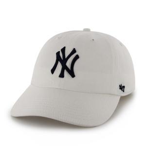 ニューヨークヤンキース キャップ Yankees '47 CLEAN UP White RGW17GWS WHN  フォーティーセブン|suave-tribe