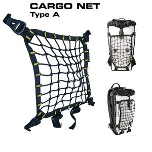ボブルビー カーゴネット タイプA Point65 BOBLBEE CARGO NET TYPE A (Black/YELLOW)