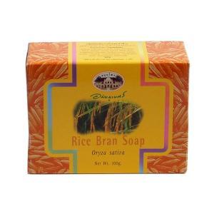 アバイブーベ|ライスブラン ソープ 石鹸 内容量100g  オーガニックハー ブ|suaythai