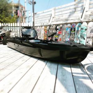 カヤックフィッシング ペダルドライブ ブラック SUBURBAN Defender Pedal Sp...