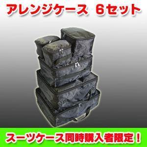 スーツケース同時購入者限定商品! アレンジケース 6セット|success