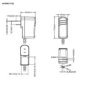 汎用スイッチング式ACアダプター 12V 2A 最大出力24W PSE取得品 出力プラグ外径5.5mm(内径2.1mm) 1年保証付|succul-shop|05