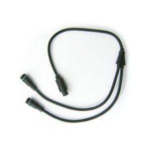 LEDイルミネーション コード直径2.0mmストレートライト用3芯Y字型コード  1.2m succul-shop