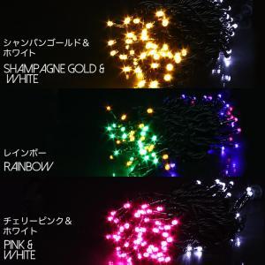 LEDイルミネーションライト クリスマスライト 100球 10m 全10色可選 直径2.0mm 防雨防水 連結可 PSE認定済 メモリー機能内蔵 コントローラー|succul|05