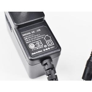 汎用スイッチング式ACアダプター 12V 1A 最大出力12W PSE取得品 出力プラグ外径5.5mm(内径2.1mm) 1年保証付 SUCCUL succul 02