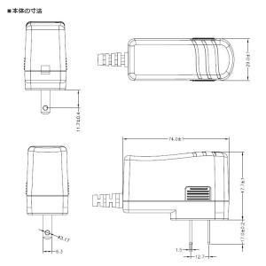 汎用スイッチング式ACアダプター 12V 1A 最大出力12W PSE取得品 出力プラグ外径5.5mm(内径2.1mm) 1年保証付 SUCCUL succul 05