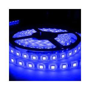 LEDテープライト 5050型チップ ブルー 5M 300発 IP68防水 succul