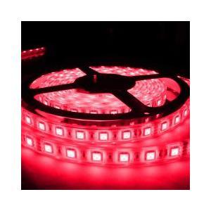 LEDテープライト 5050型チップ レッド 5M 300発 IP68防水 succul