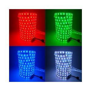 LEDテープライト 5050型チップ RGBカラー 5M 300発 IP68防水 コントローラー付き succul