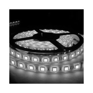 LEDテープライト 5050型チップ ホワイト 5M 300発 IP68防水 succul
