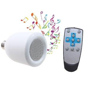 BluetoothスピーカーLED電球 LEDライトスピーカー ワイヤレススピーカー Bluetoothスピーカー搭載 LED電球 E26口金対応 ホワイト SUCCUL|succul|05