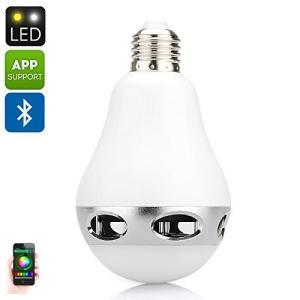 Bluetoothスピーカー搭載LED電球 【1千600万種類カラー設定】 LEDライトスピーカー ワイヤレススピーカー LED電球 スピーカー 【送料無料】|succul