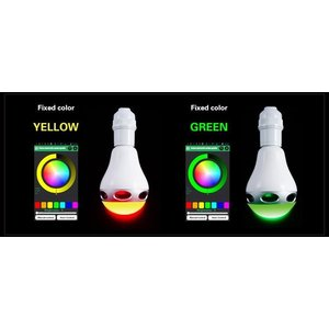 Bluetoothスピーカー搭載LED電球 【1千600万種類カラー設定】 LEDライトスピーカー ワイヤレススピーカー LED電球 スピーカー 【送料無料】 SUCCUL succul 04