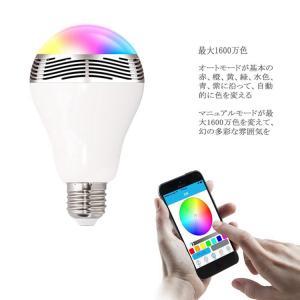Bluetoothスピーカー搭載LED電球 【1千600万種類カラー設定】 LEDライトスピーカー ワイヤレススピーカー LED電球 スピーカー 【送料無料】 SUCCUL|succul|04
