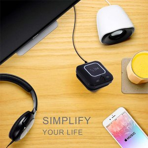 Bluetooth レシーバー 内蔵マイク NFC搭載 Bluetooth4.0 カー 車 ワイヤレス オーディオ 高音質 店長おすすめ bluetooth発信端全対応[メーカー正規品]|succul|06