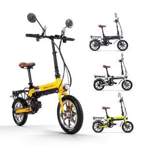 電動バイク 電動自転車 世界最軽量級 次世代ハイブリッド EV Smart eBike TOP619 1台3役 折りたたみ 意匠登録済 PL保険加入|succul