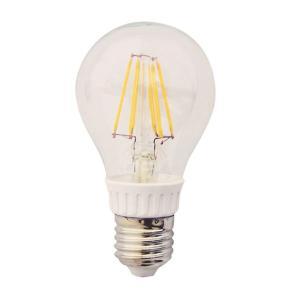 LEDクリア電球 クリアLED電球 消費電力6W 調光器対応タイプ 白熱電球60W相当 口金E26 電球色|succul