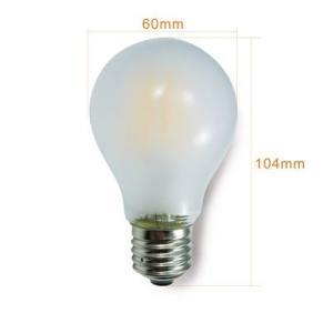 LEDフロスト電球 消費電力5W 調光器非対応タイプ 白熱電球40W相当 口金E26 電球色 SUCCUL|succul|02