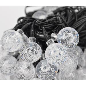 LEDイルミネーション ボール型 5m 50球 ガラス球 コントローラー付き 防雨 クリスマス ライト 電飾 飾り|succul|05
