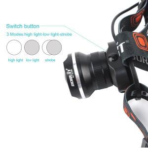 LEDヘッドライト 懐中電灯 乾電池 3モード...の詳細画像1